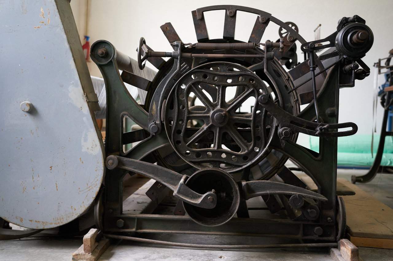 tessitura la colombina storia e telai